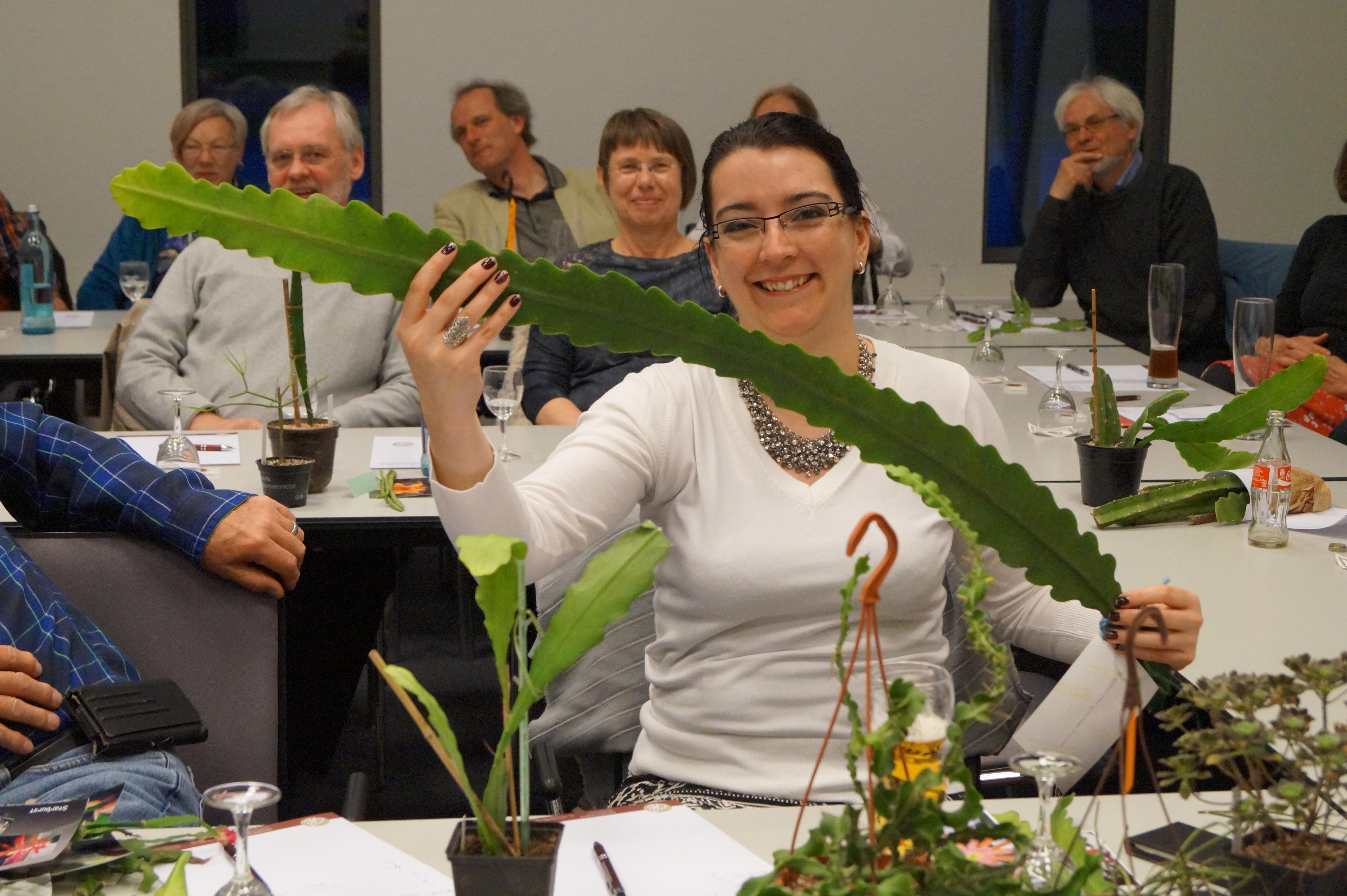Abb. 4: Bei der Versteigerung - EPIG macht glücklich! (Foto: Florian Weida)
