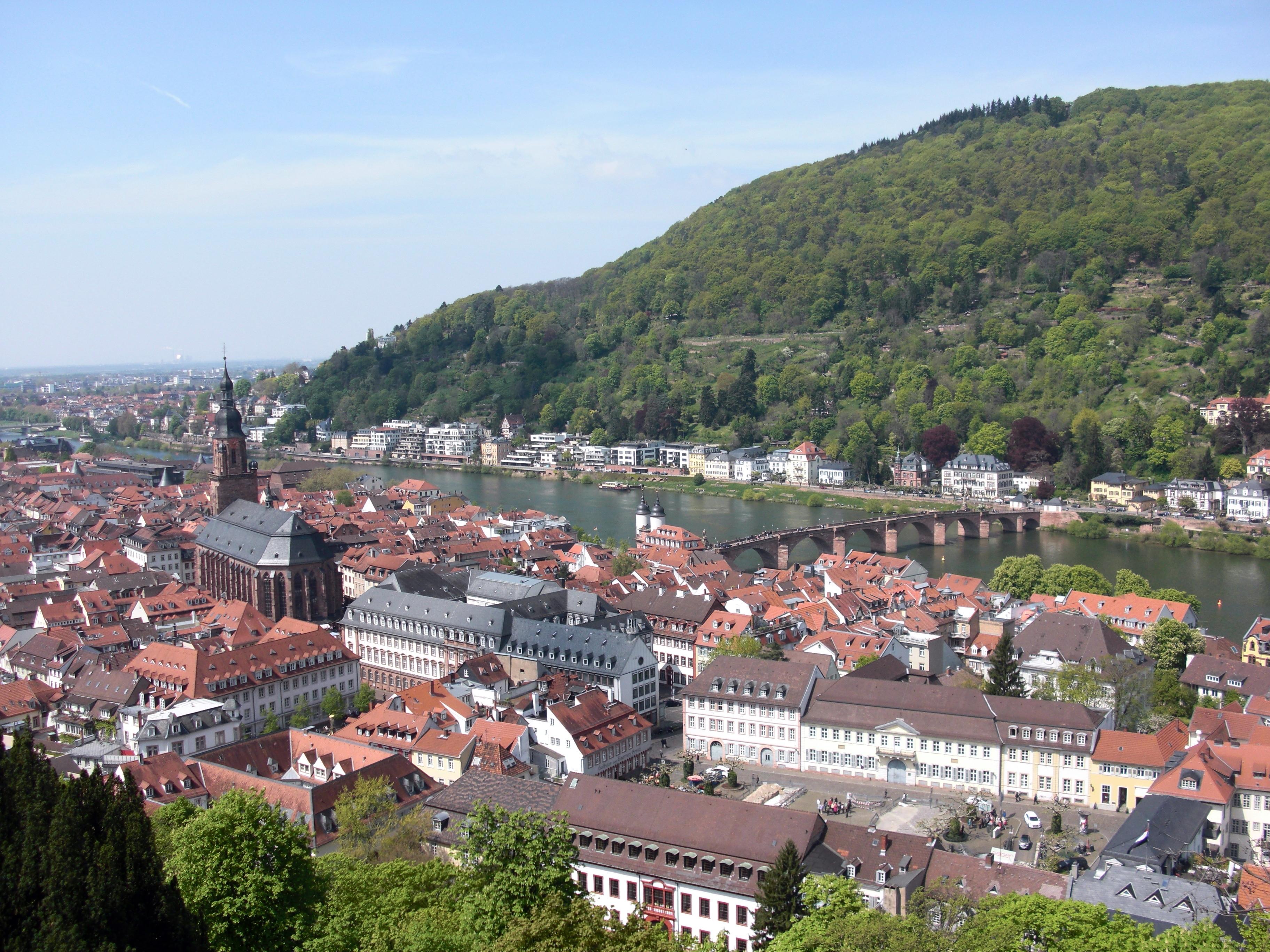 Abb. 6: Aussicht über Heidelberg vom Schloss aus (Foto: Matthias Appelt)