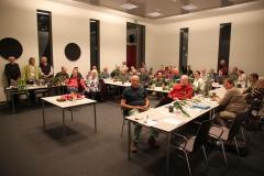 Abb. 5: Das Ende vom Lied – glücklich und erschöpft nach der EPIG-Party (Foto: Heinz Peter Mohrdieck)